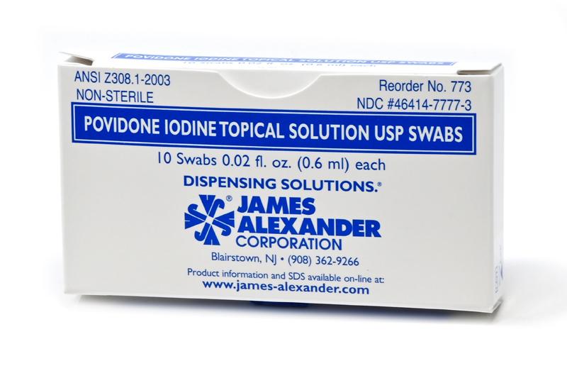 Povidone-Iodine-Box